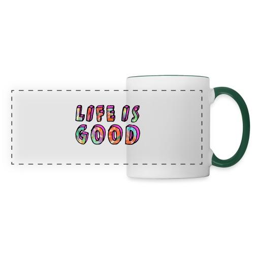LifeIsGood - Panoramic Mug