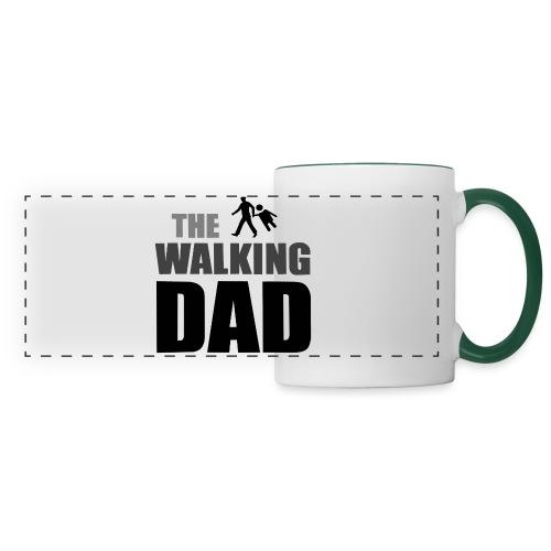 the walking dad auf dem Weg in die lustige Bar - Panoramatasse