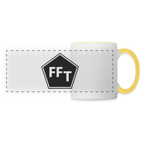 FFT B&W logo - Panoramic Mug
