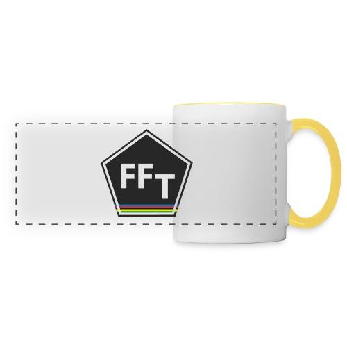 FFT logo colour (Fastfitnesstips) - Panoramic Mug