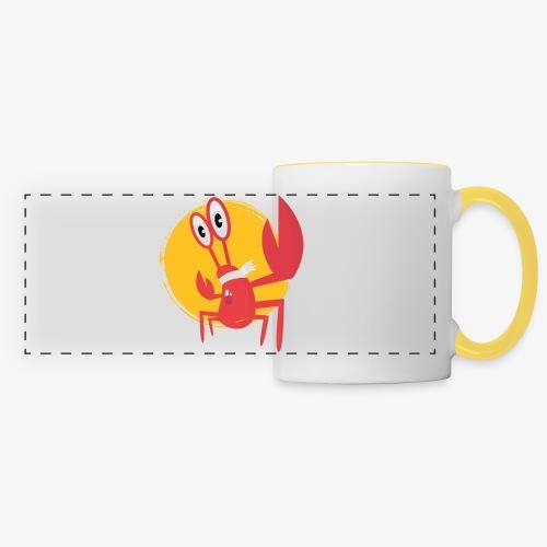 lobster - Mug panoramique contrasté et blanc