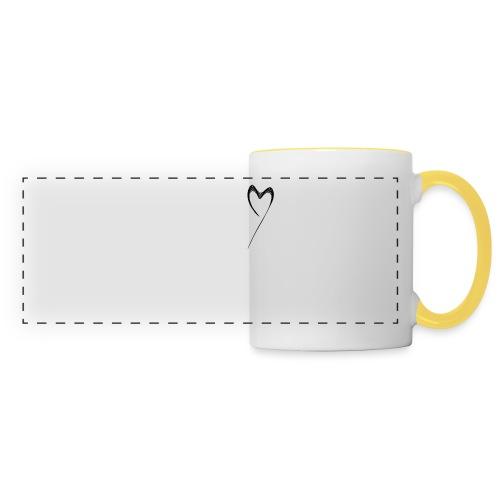Line Heart - Taza panorámica
