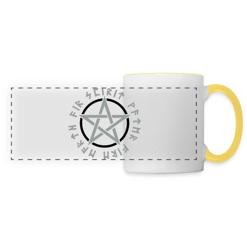 Pentagramm, Elemente, Runen, Magie, Symbol, Stern - Panoramatasse