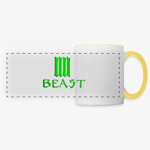 Beast Green - Panoramic Mug