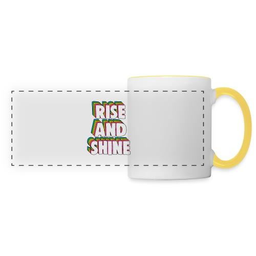 Rise and Shine Meme - Panoramic Mug