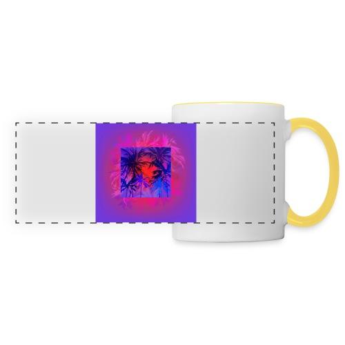 Tropical Summer Nights - Panoramic Mug