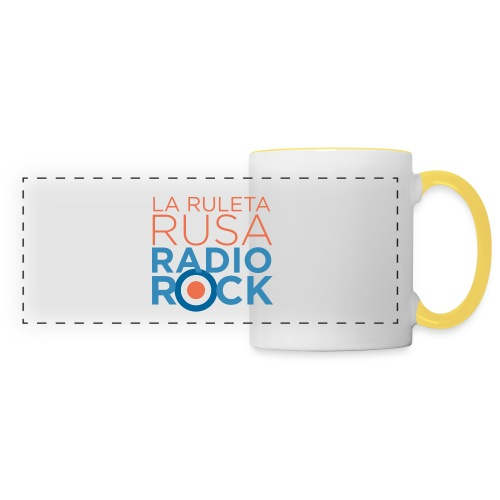 La Ruleta Rusa Radio Rock. Portrait Primary. - Taza panorámica