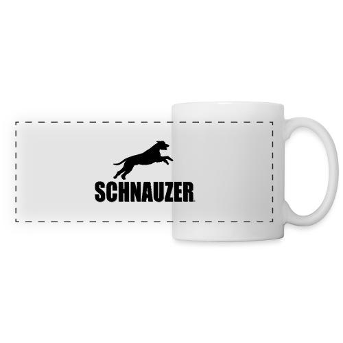 Schnauzer / Riesenschnauzer Hunde Design Geschenk - Panoramatasse