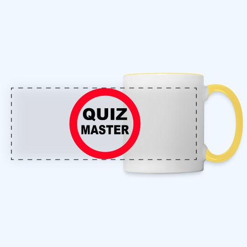 Quiz Master Stop Sign - Panoramic Mug