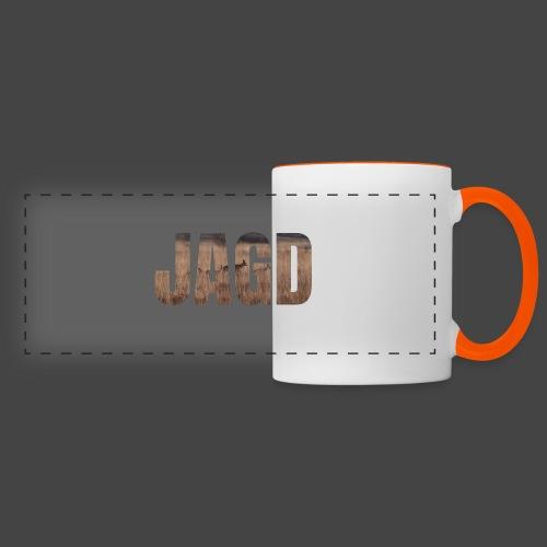JAGD-Shirt für Jäger/innen, Motiv Moorjagd - Panoramatasse