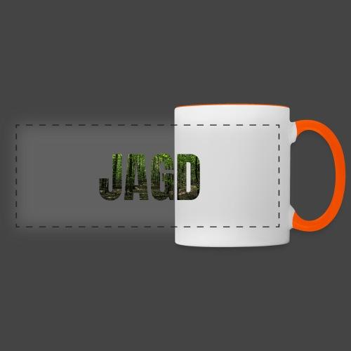 JAGD-Shirt für Jäger/innen, Motiv Wald - Panoramatasse