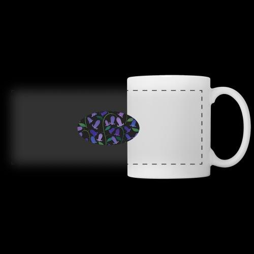 blue bells - Mug panoramique contrasté et blanc