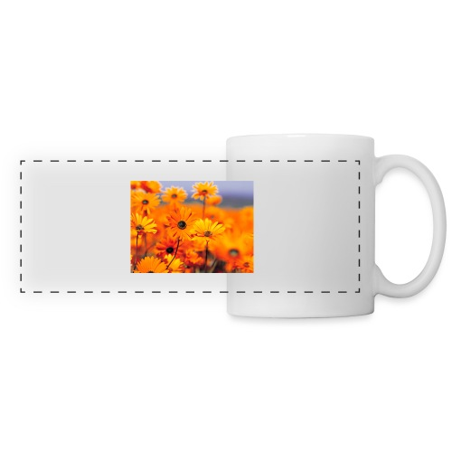 Flower Power - Panoramic Mug
