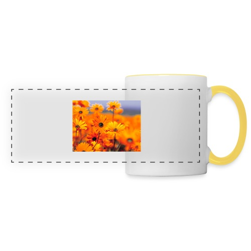 Flower Power - Panoramic Mug
