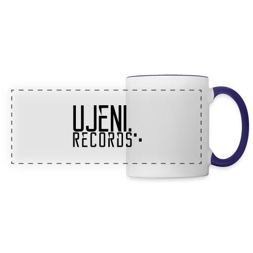 Ujeni Records logo - Panoramic Mug