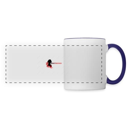 FINETHINGS - Mug panoramique contrasté et blanc