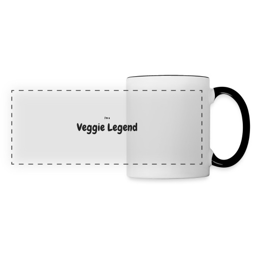 I'm a Veggie Legend - Panoramic Mug