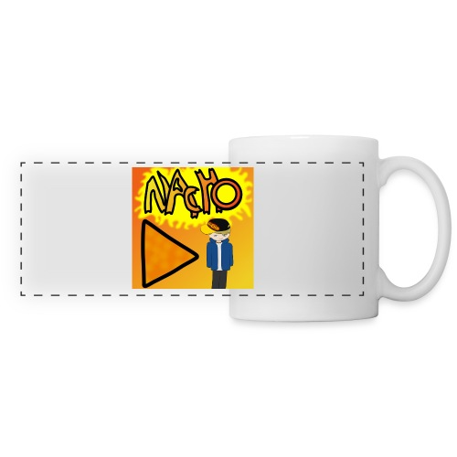 Nacho Title with Little guy - Panoramic Mug