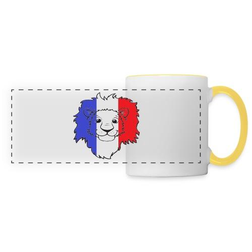 Lion France - Mug panoramique contrasté et blanc