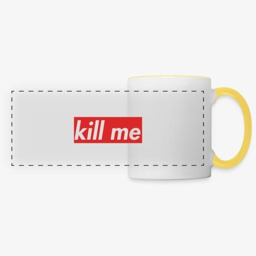 kill me - Panoramic Mug