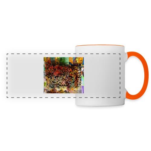 urban tribute - Mug panoramique contrasté et blanc