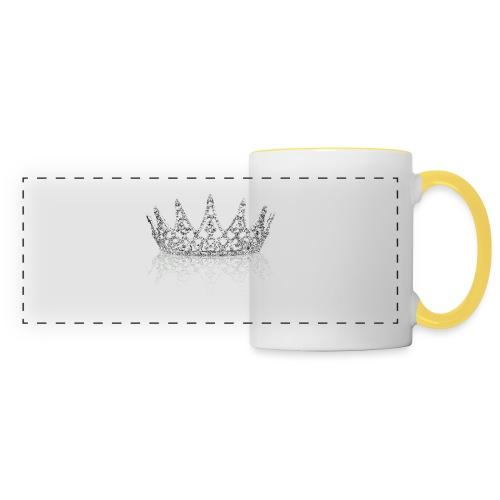 Queen Crown design - Panoramic Mug
