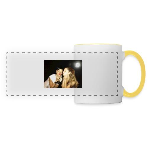Grande et Fenty 960x720, 2 Chanteuses Américaines. - Mug panoramique contrasté et blanc
