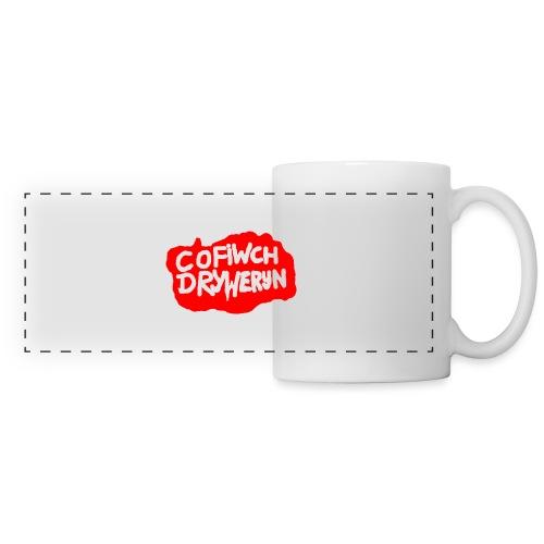 Cofiwch Dryweryn - Panoramic Mug