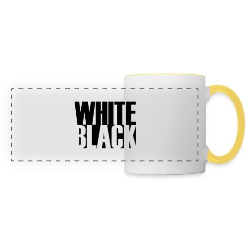 White, Black T-shirt - Panoramamok