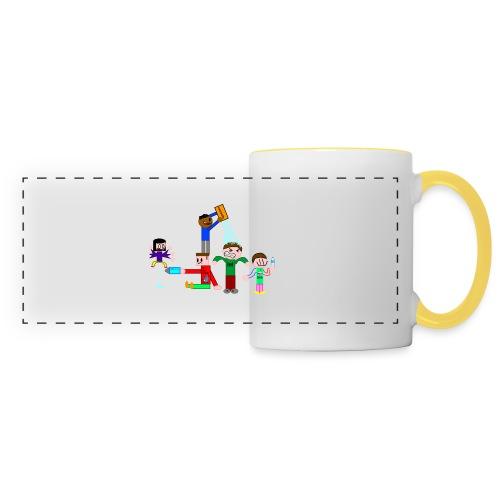 Water Fight - Panoramic Mug