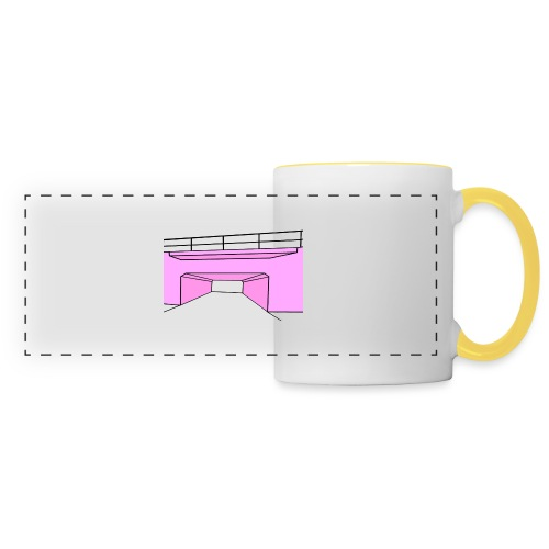 Pink Tunnel - Panoramamugg