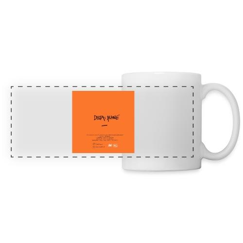Cover Back delta. plane - Mug panoramique contrasté et blanc