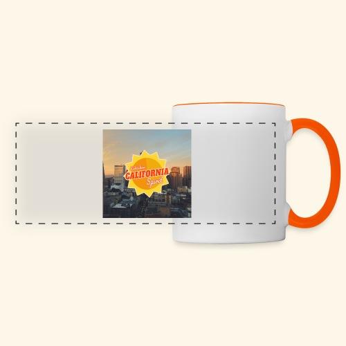 California Spirit City - Mug panoramique contrasté et blanc