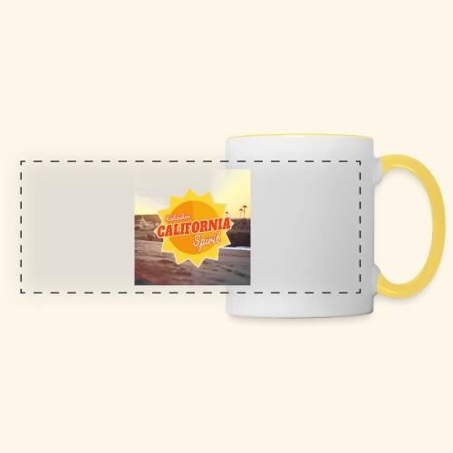 SunRise - Mug panoramique contrasté et blanc