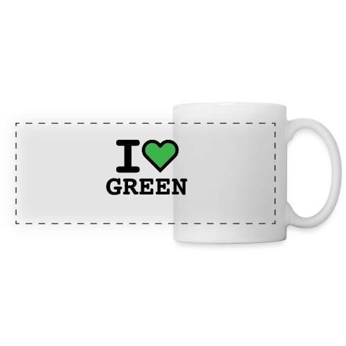 i-love-green-2.png - Tazza panoramica