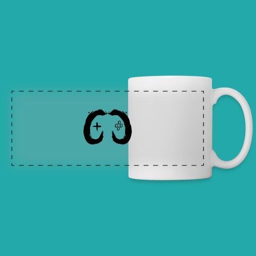 Crowd Control Controller Logo Black Large - Panoramic Mug