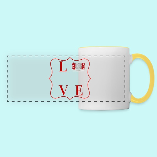 love - Panoramic Mug