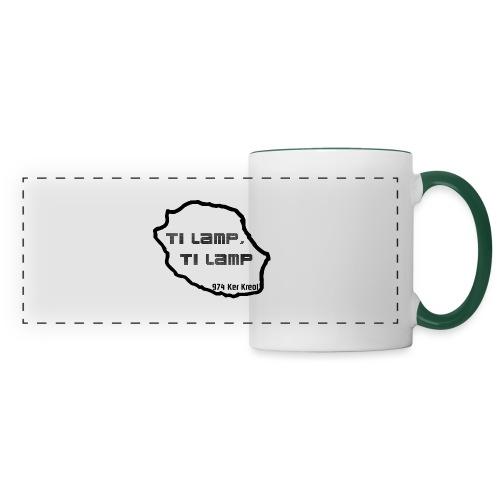 Ti lamp ti lamp - Mug panoramique contrasté et blanc