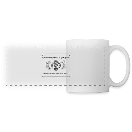 etiquette - Mug panoramique contrasté et blanc