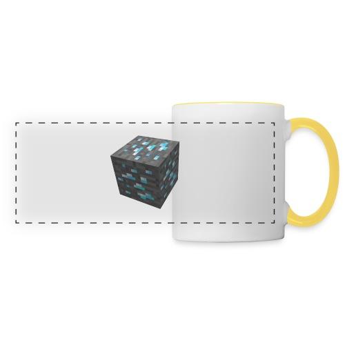 BLOCK DE DIAMANT MINECRAFT - Mug panoramique contrasté et blanc