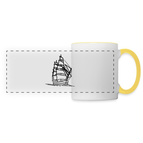 Segelschiff Illustration Meer Schiff Bootsfahrt - Panoramatasse