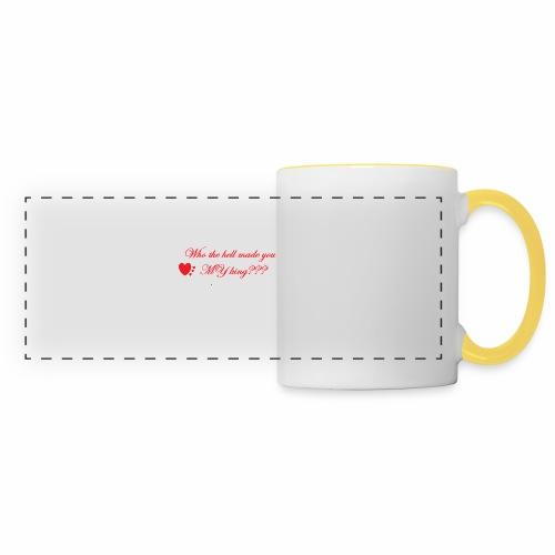 LoveYourselfTheMost - Panoramic Mug