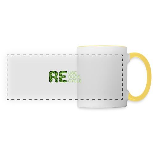 REuse REduce REcycle - Tazza con vista