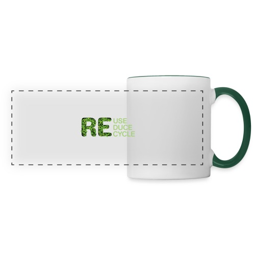 REuse REduce REcycle - Tazza con vista