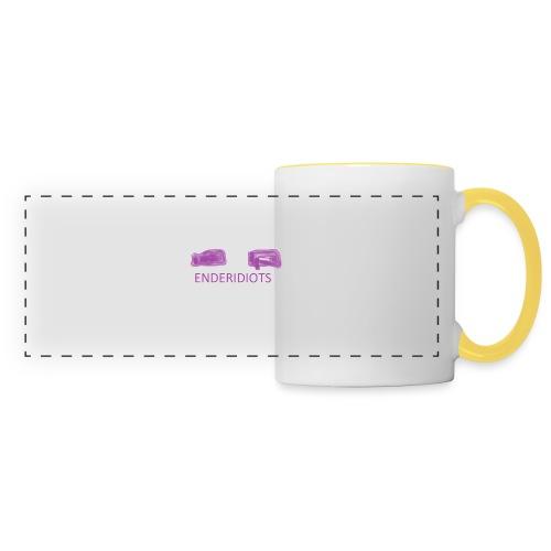 enderproductions enderidiots design - Panoramic Mug