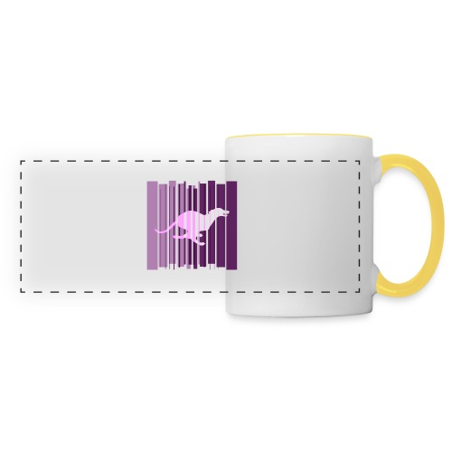 Sighthound In Purple Women's T - Panoramic Mug