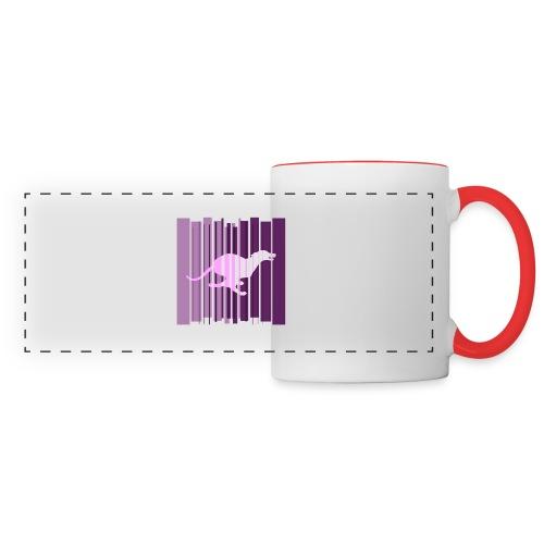 Sighthound In Purple Women's T - Panoramic Mug