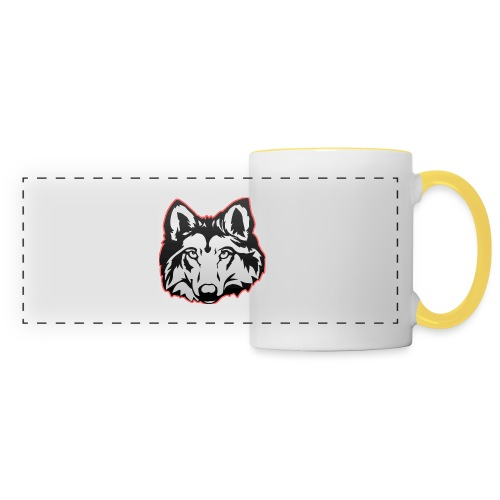 Wolfie (Red) - Panoramic Mug
