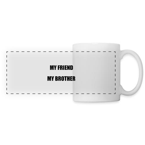my friend - Mug panoramique contrasté et blanc