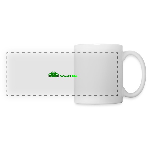 wash me - Panoramic Mug